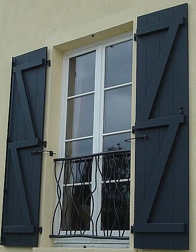 peinture volet volets façade Pinterest Facades and Doors