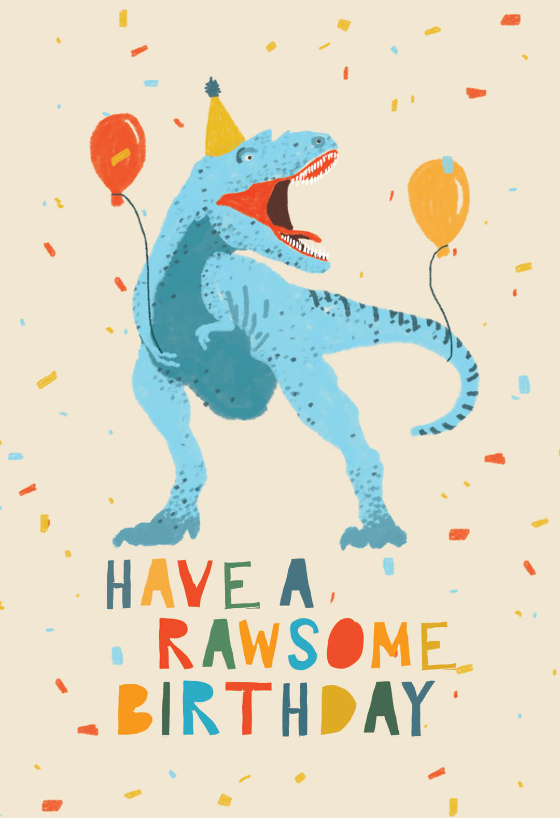 Dinosaur Fiesta Birthday Card Greetings Island Virtual Birthday Cards Happy Birthday Art Happy Birthday Pictures