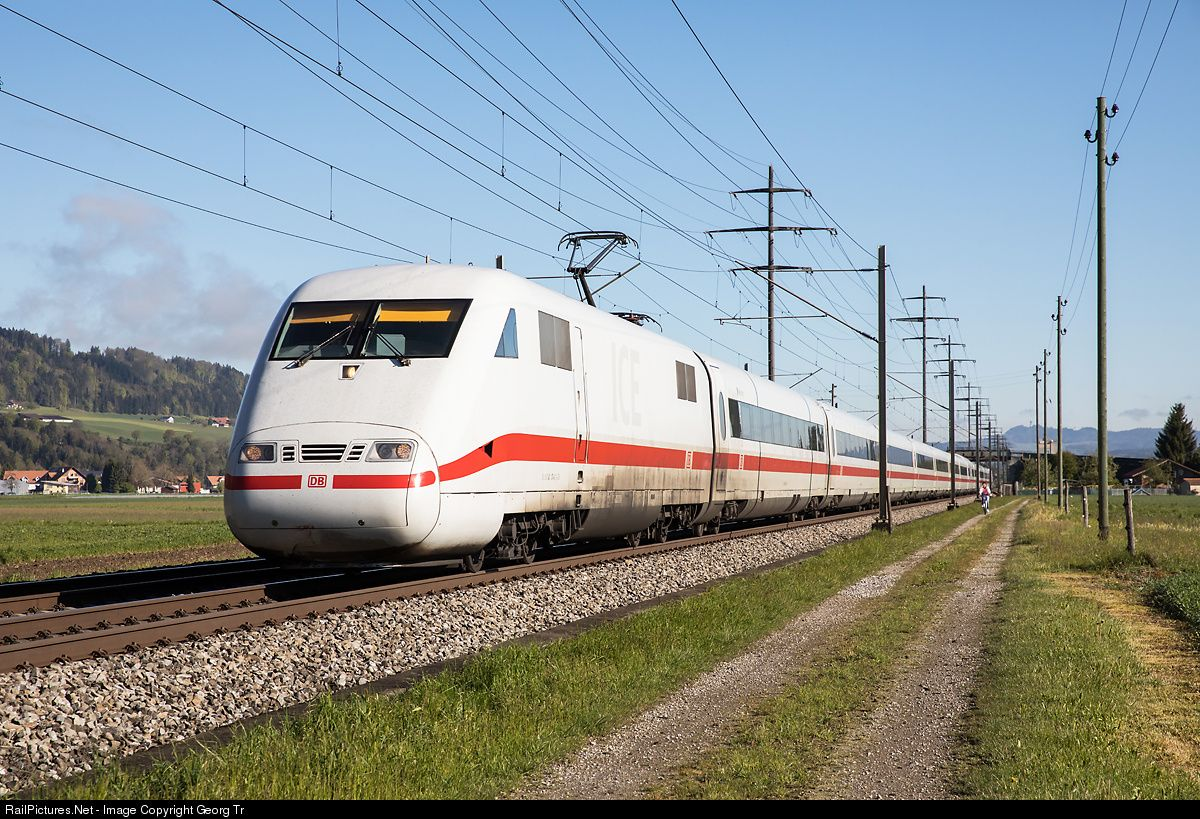 401 074 Deutsche Bahn AG ICE 1 at Kiesen, Switzerland by