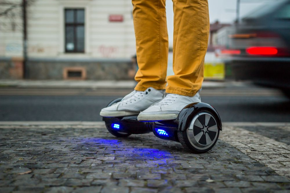 Hoverboard UK law