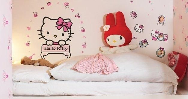 hello kitty stickers chambre: hello kitty stickers chambre   funny