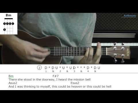 How to play Hotel California with Eagles (Ukulele lesson) - YouTube