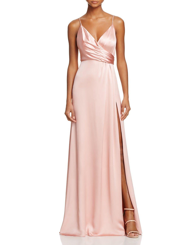 Jill Jill Stuart Crossover Slip Gown 100 Bloomingdales Exclusive