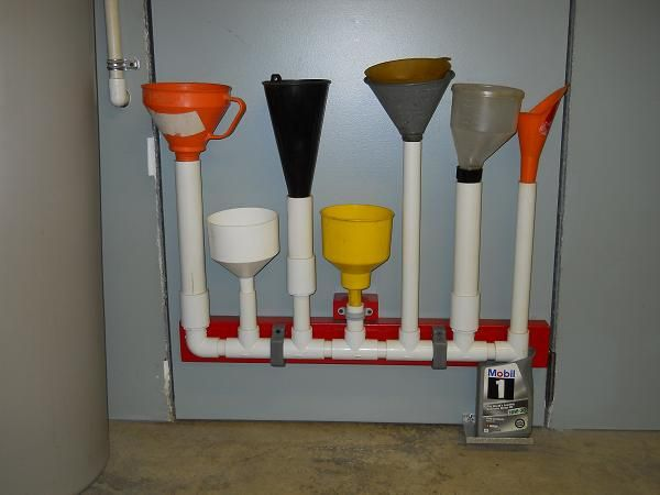 Oil Drain And Oil Caddy Mail: Keep Your Oil Funnels Off The Ground, Clean And Dirt Free