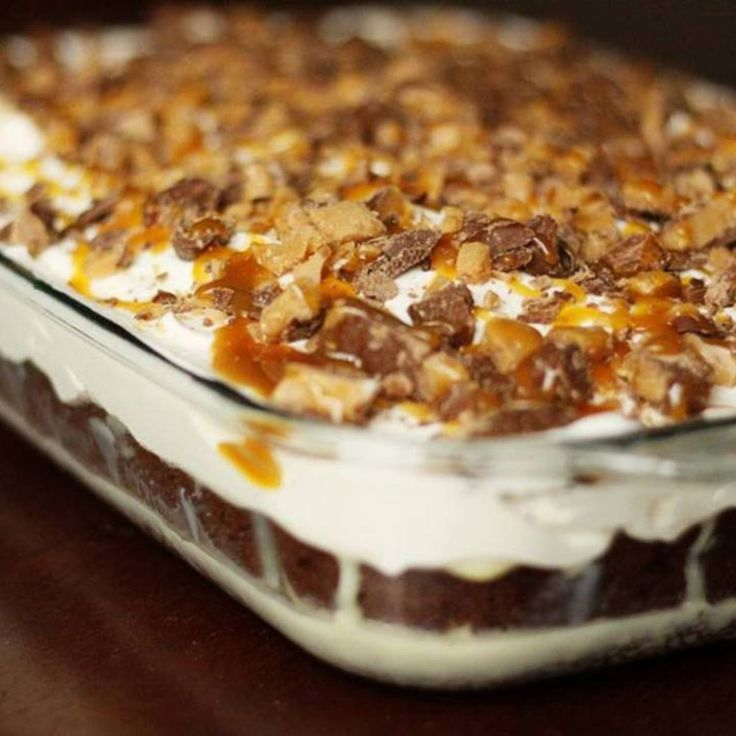 Had this at work and it was amazing German chocolate poke cake with