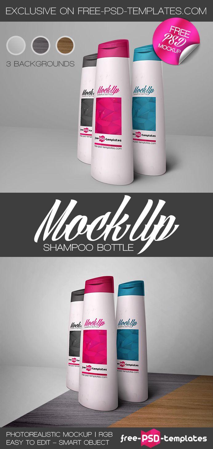 Free Shampoo Bottle Mock Up In Psd Stuff Mockup File Type Photoshop Image Size 3400 X 2800 Resolution 514 Mb Templatescom