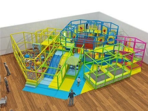 2 Level Generic Indoor Play Structure - Indoor Playgrounds ...