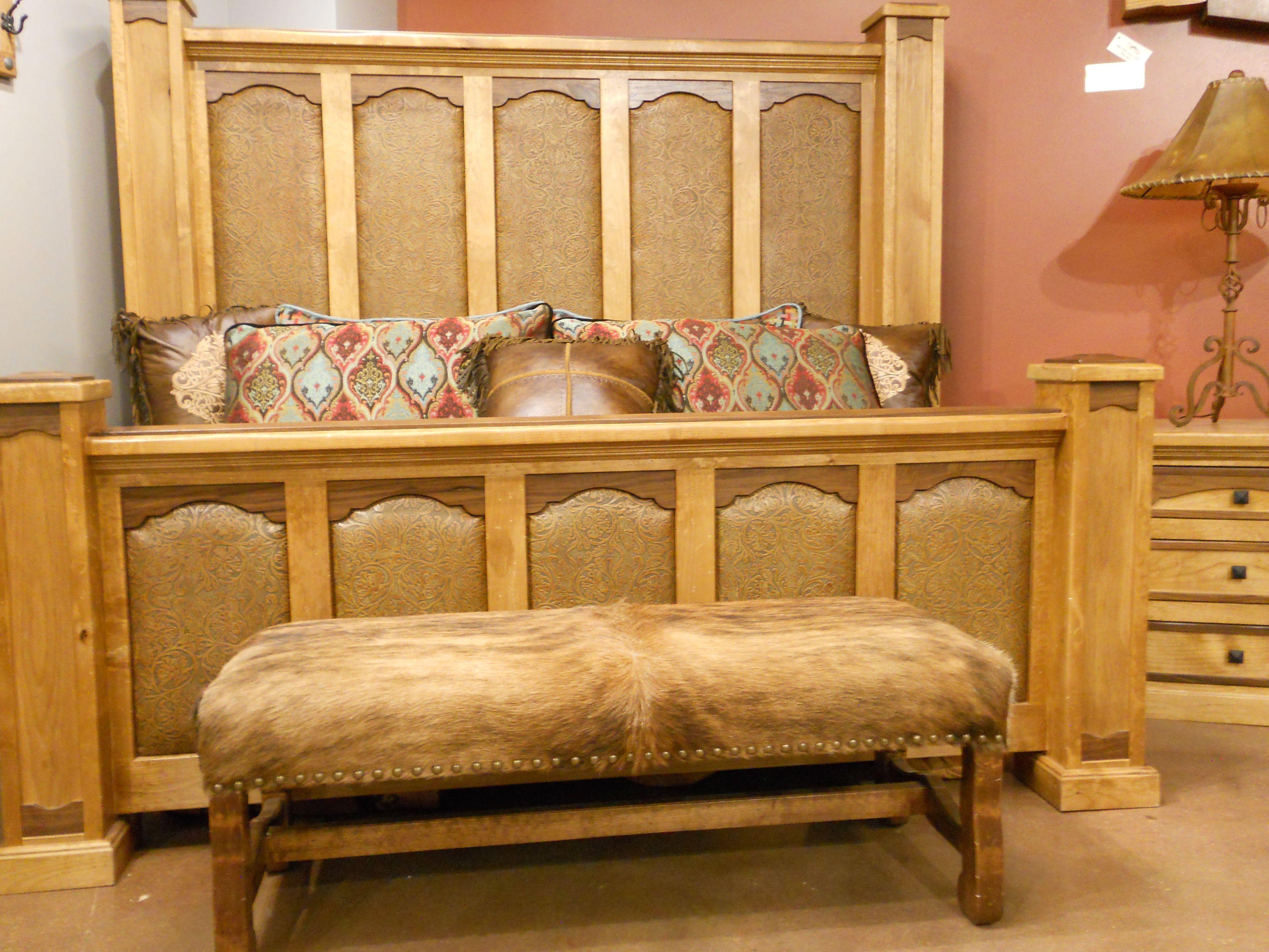 Rawhide Bed Western Furniture Mountain Furniture