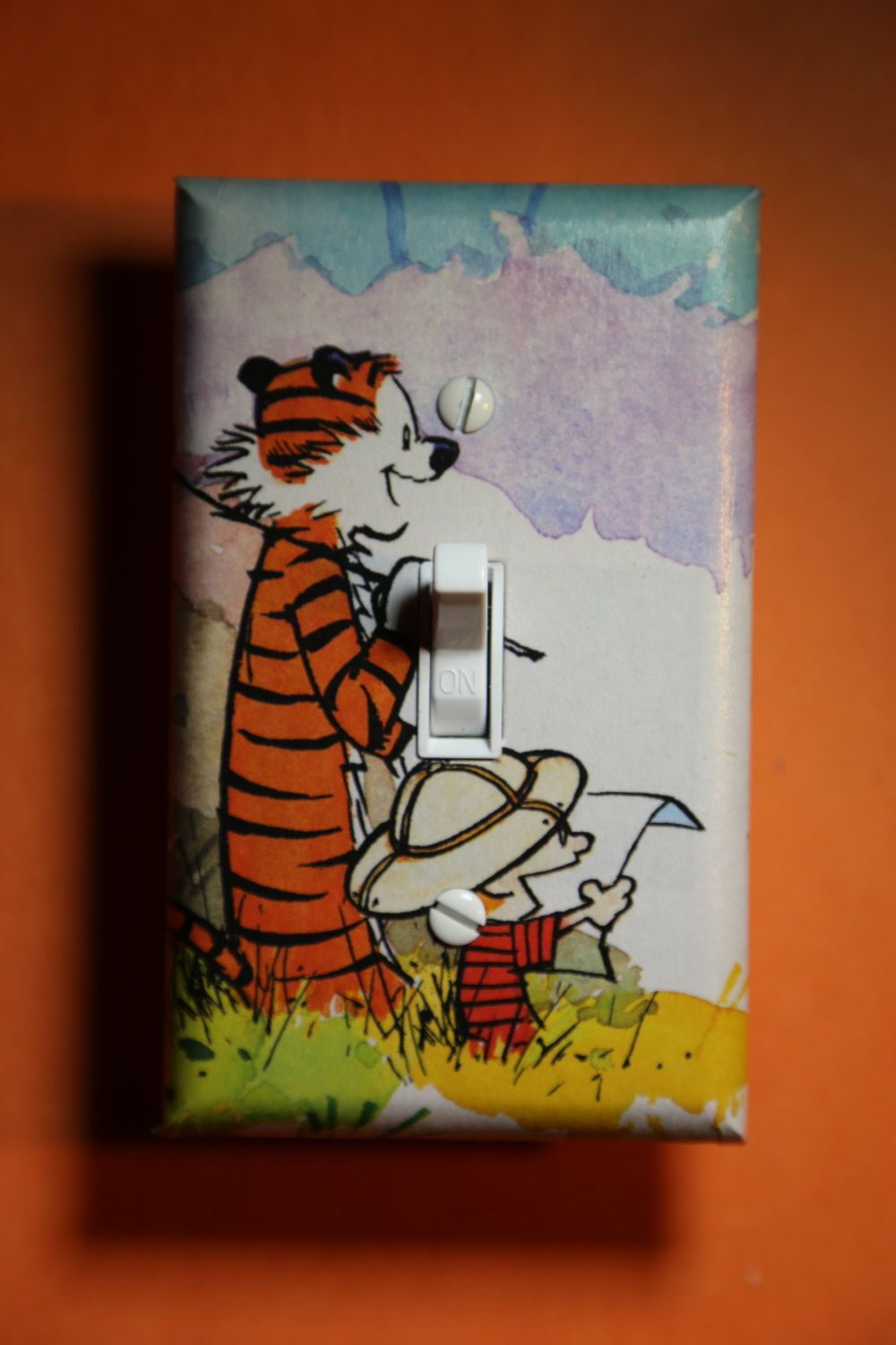 calvin and hobbes bedroom decor
