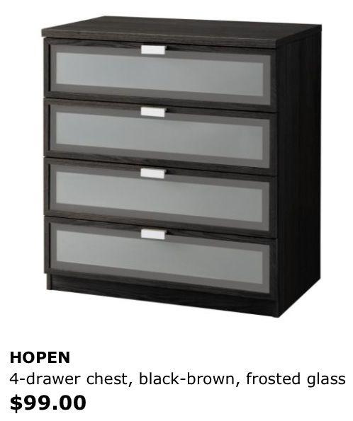 Matching Dresser Ikea Hopen Ikea Ikea Dresser