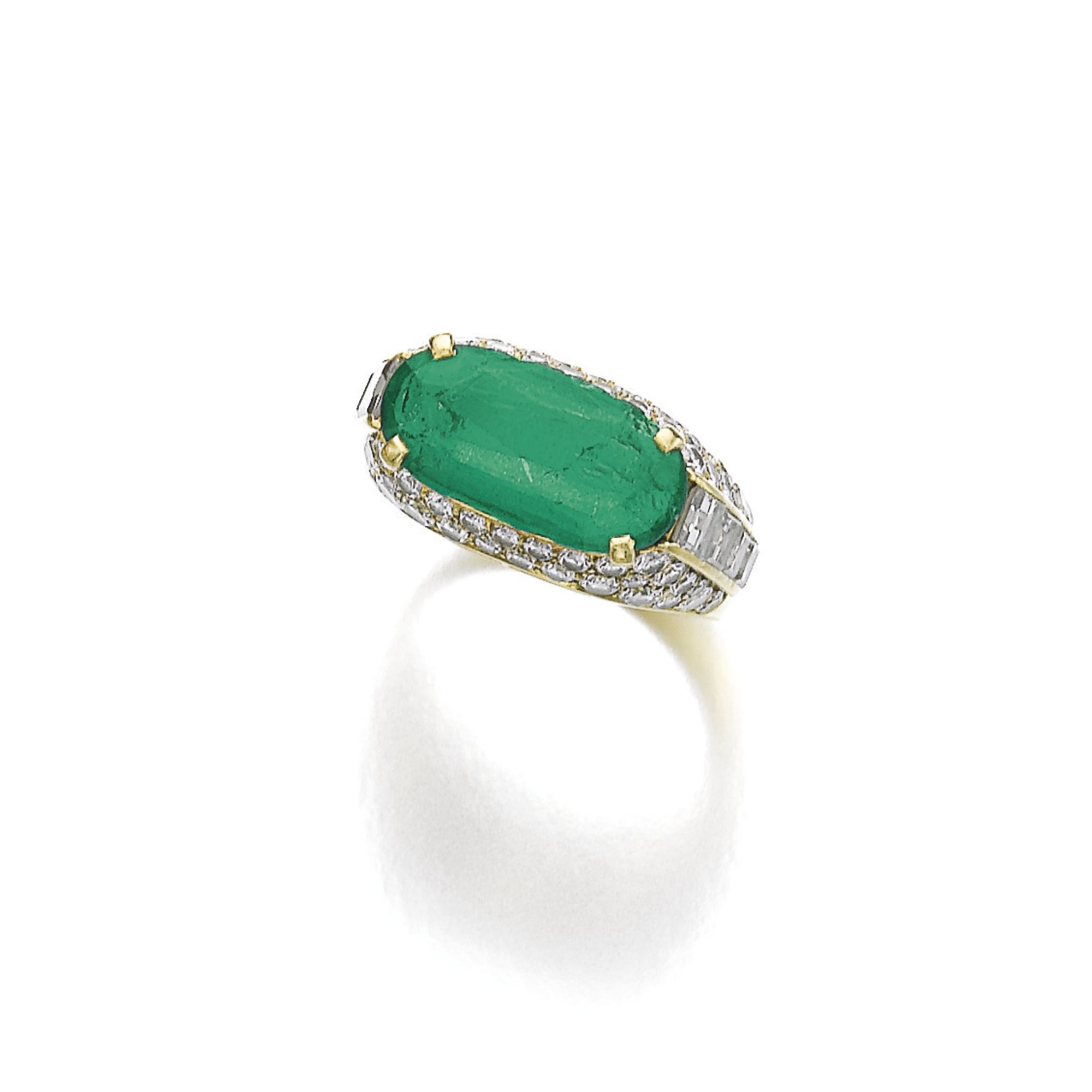 katz ring large moda by of martin operandi oval a loading green one kind emerald