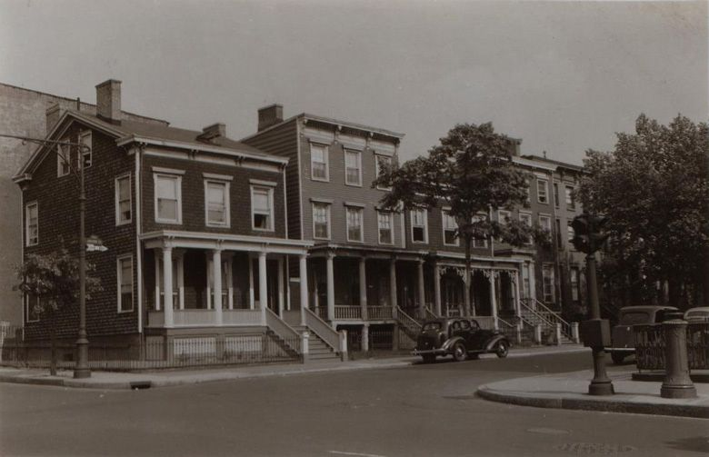 1941 Fort Greene Brooklyn Love Those Porches Nyc Pics Fort Greene Brooklyn Brooklyn