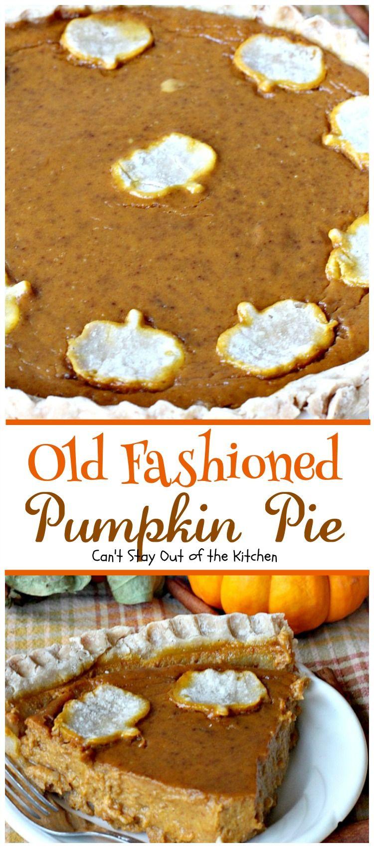 Old fashioned pumpkin pie recipe 63