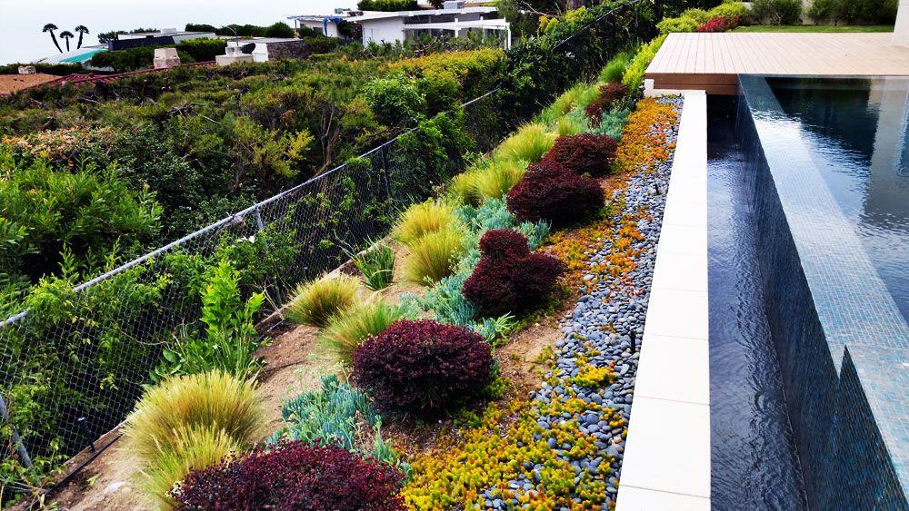 Hillside Pacific Palisades Luxury Home Luxury Pool
