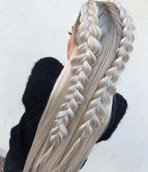 Beautiful Braids and Baby Hairs - 20 Eye-Catching Ways to Style Dookie Braids - The Trending Hairstyle
