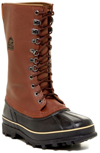 bd6b7a27e7d Pin by Lookastic on Brogue Boots & Combat Boots | Boots, Mens brogue ...