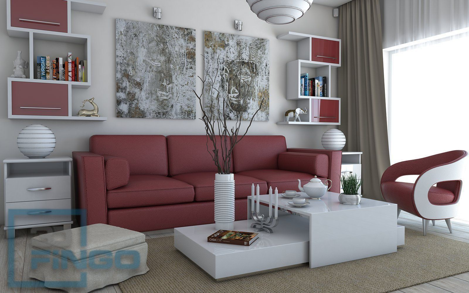 Living Room Interior Scene With Images Living Room Images