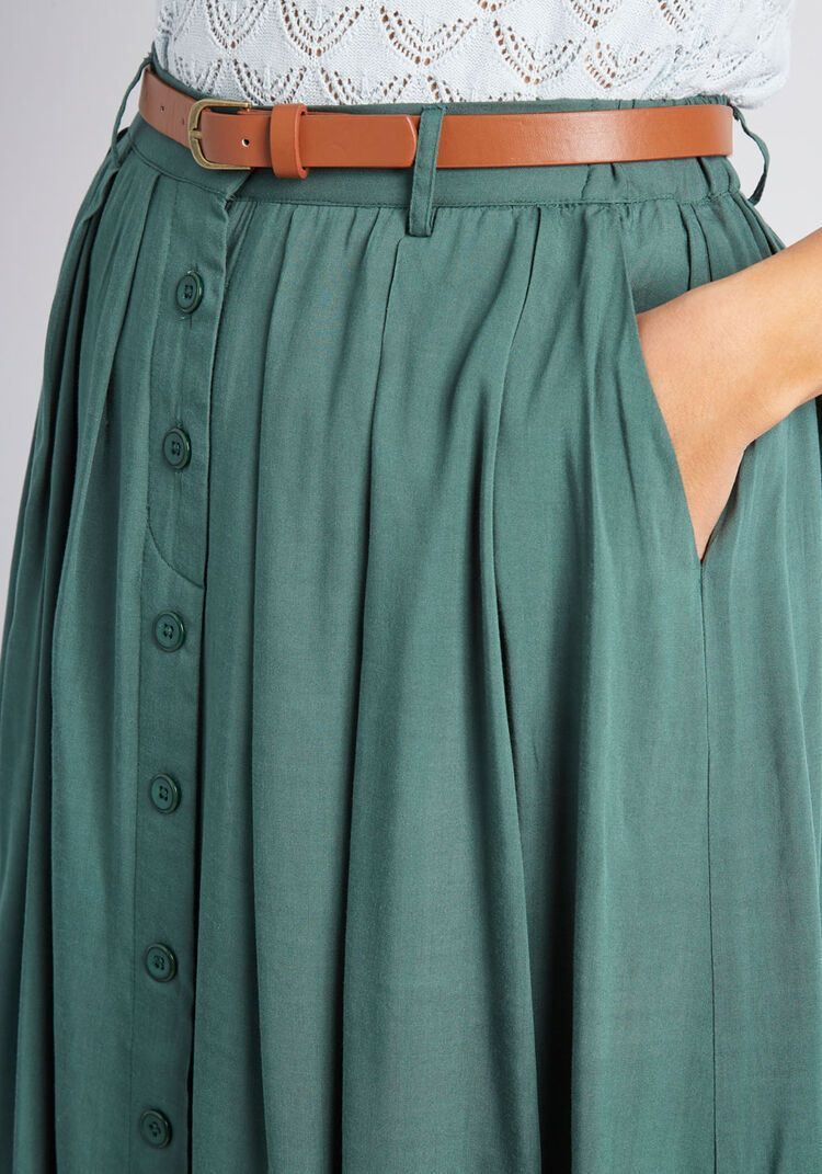 Photo of Bookstore's Best Midi Skirt