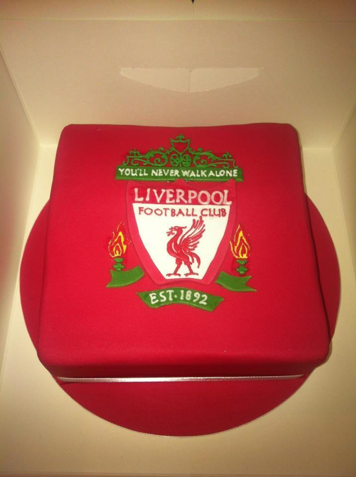 Liverpool Fc Cake Stencil