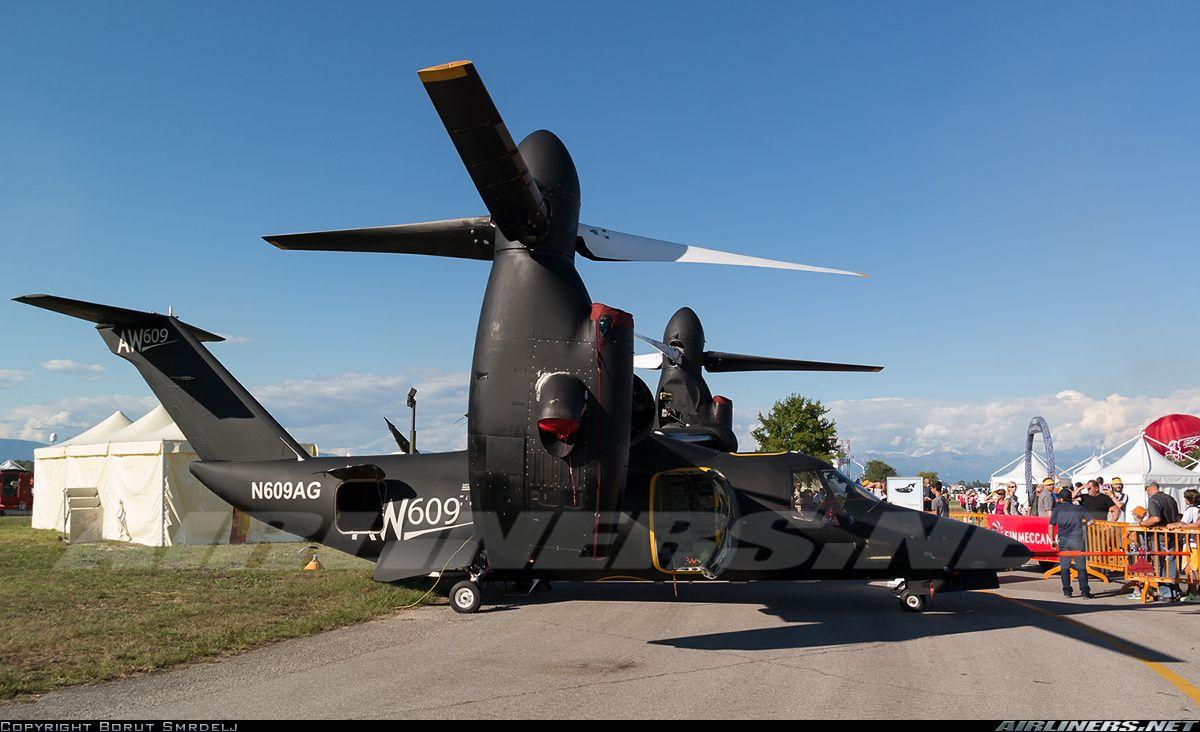 Bell/Agusta Aerospace Bell-Agusta BA-609  N609AG (cn 60002)