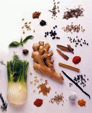 Seven herbs for indigestion