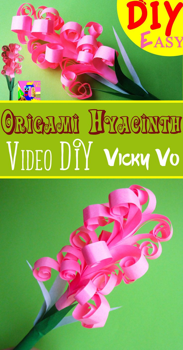 Diy How To Make A Paper Flower Hyacinth