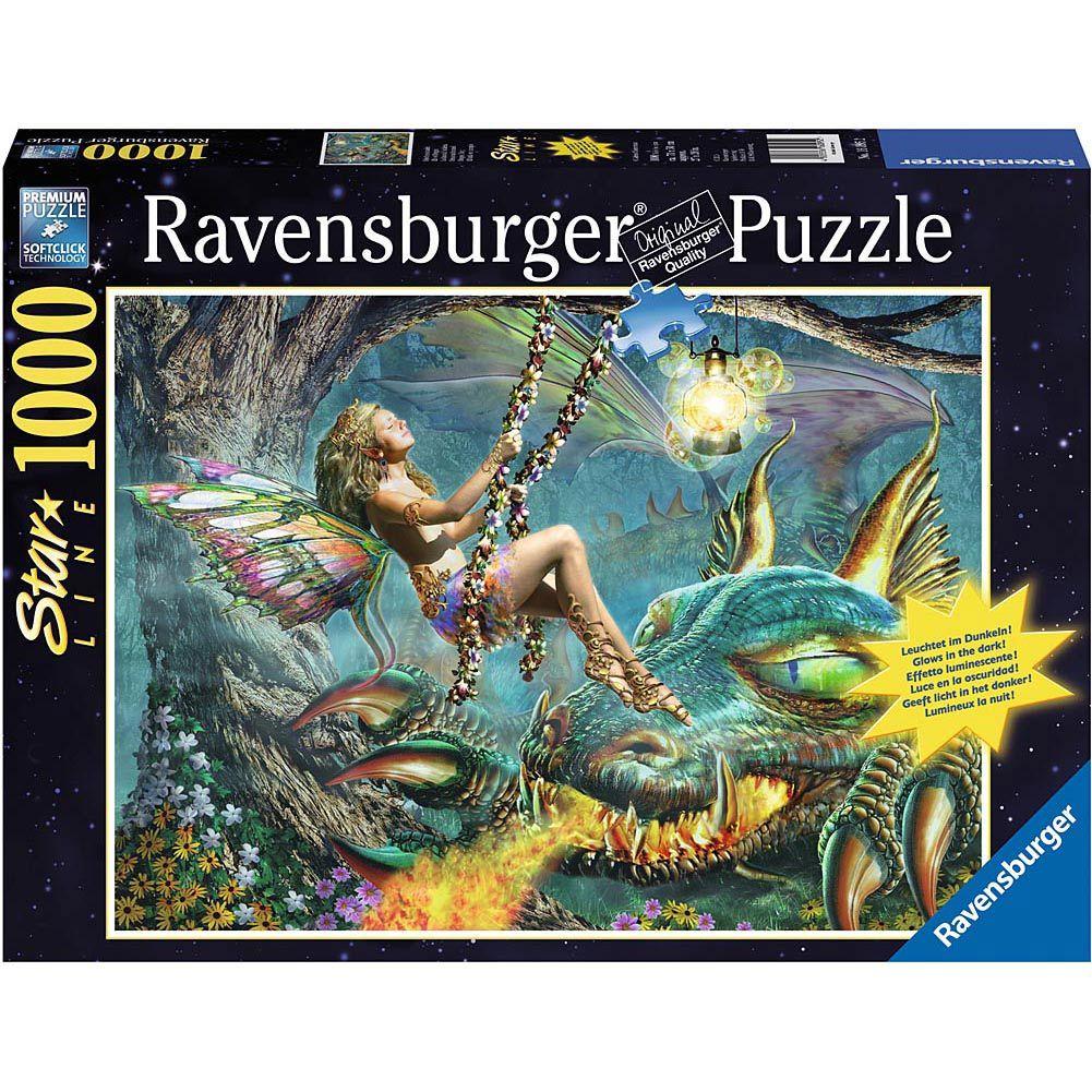 Dragon Fairy 1000 Piece Puzzle 4005556160952 1 000 Piece Puzzles Calendars Com Puzzle Jigsaw Puzzles Ravensburger Puzzle