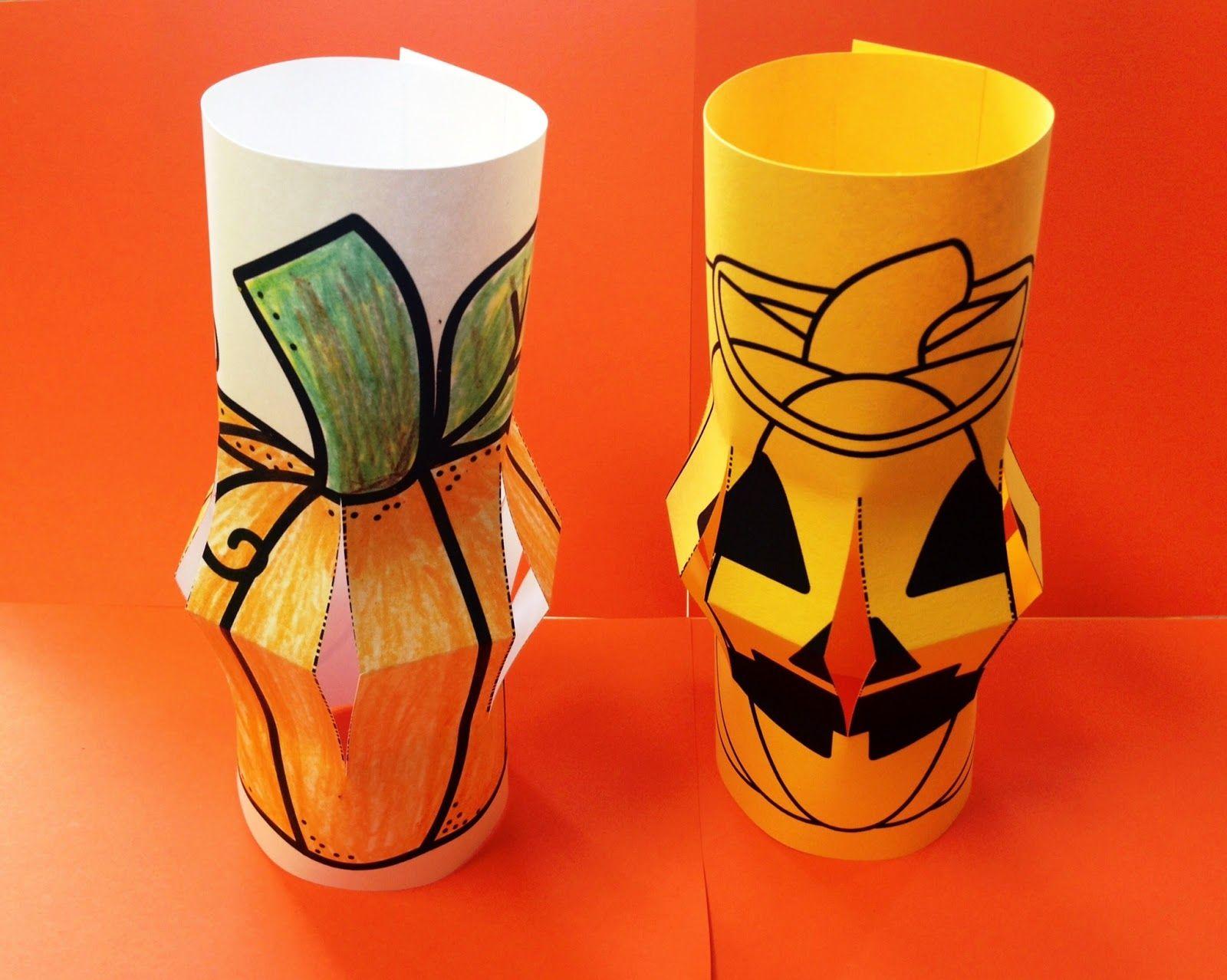 Jack O Lantern Art Project