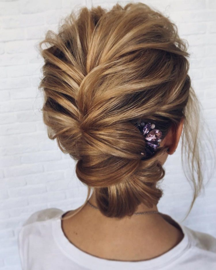 Gorgeous feminine wedding hairstyles for long hair bridal updo hairstyleshairstylesupdos wedding hairstyle ideasupdo hairstyles messy junglespirit Gallery