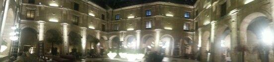 Panoramica del patio interior del Hotel los Agustinos #LRTAHaro2013