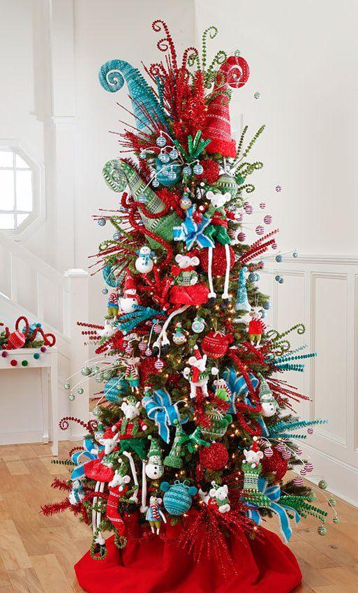 Pin de luc a bloom en arboles de navidad decorados for Navidad 2017 tendencias decoracion