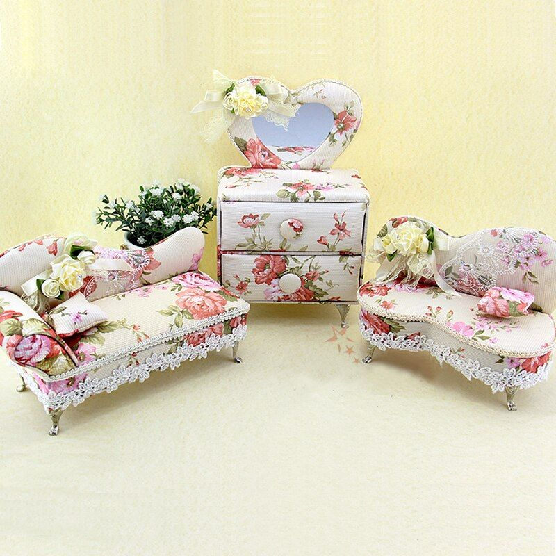 Cxzyking Fashion Style Creative Chair Sofa Princess Doll Furniture Storage Box For Girls Best Gift Baby Toys Doll Accessories Kotimart Com Doll Furniture Princess Dolls Doll Accessories