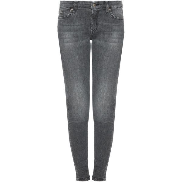 MiH JEANS Breathless Zip Back Jean ($270) via Polyvore