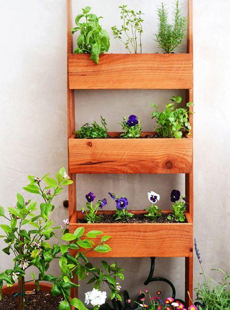 como hacer jardines verticales - Jardines Verticales Caseros