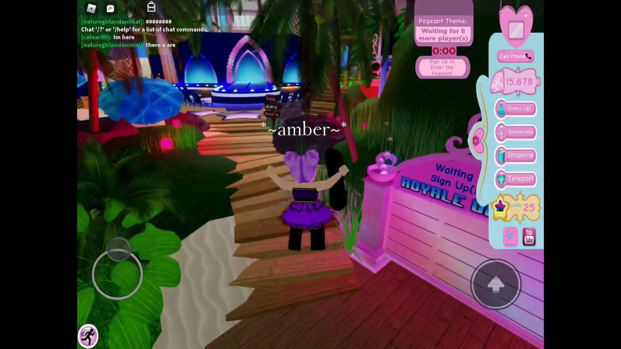 Roblox!! Royale high sunset island//at private server