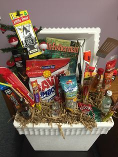 Male Gift Basket A Great Idea For The Outdoorsman