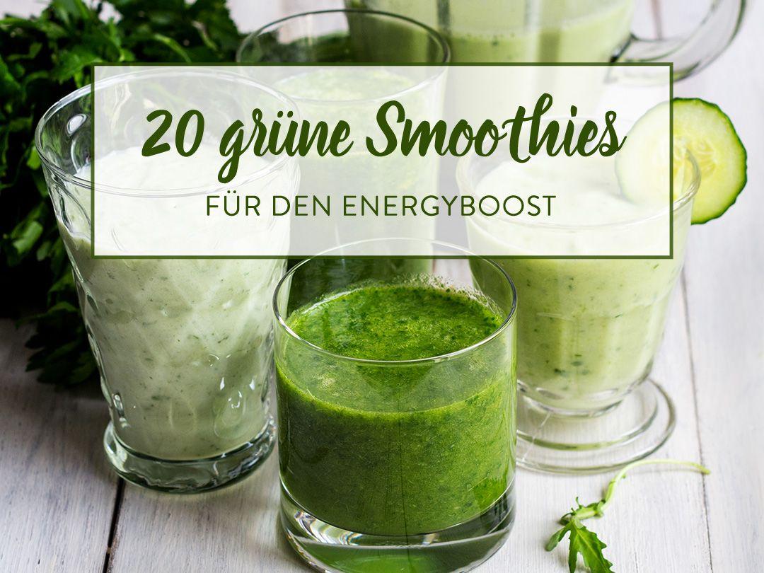 Grüne Smoothies: hol dir den Energiekick ins Glas