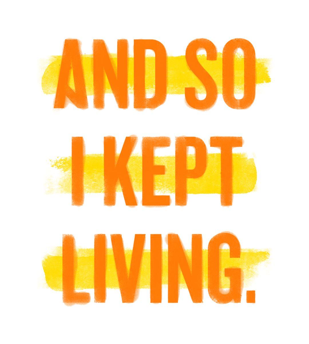 September 10 2016 World Suicide Prevention Day And So I Kept Living