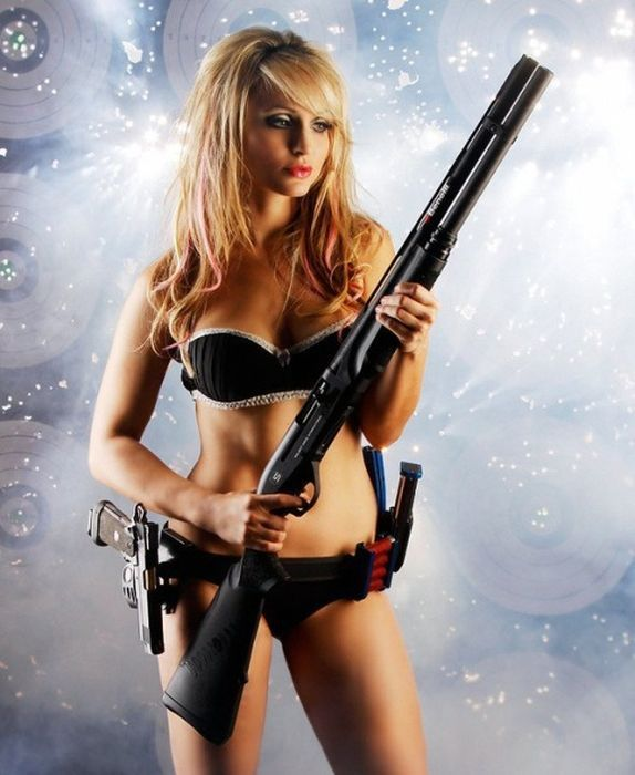 Sexy girls and gun, sexy ploe movi