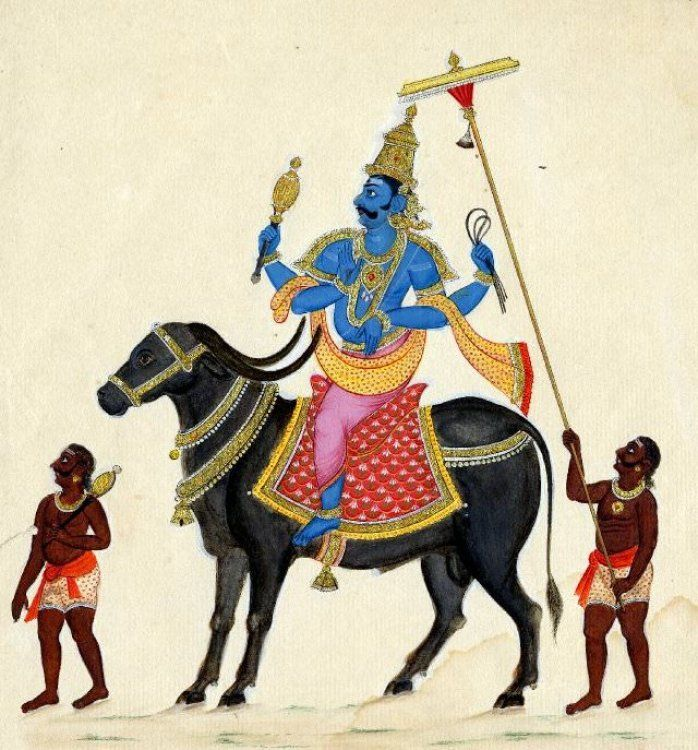Yama Deities Gods And Goddesses Hinduism