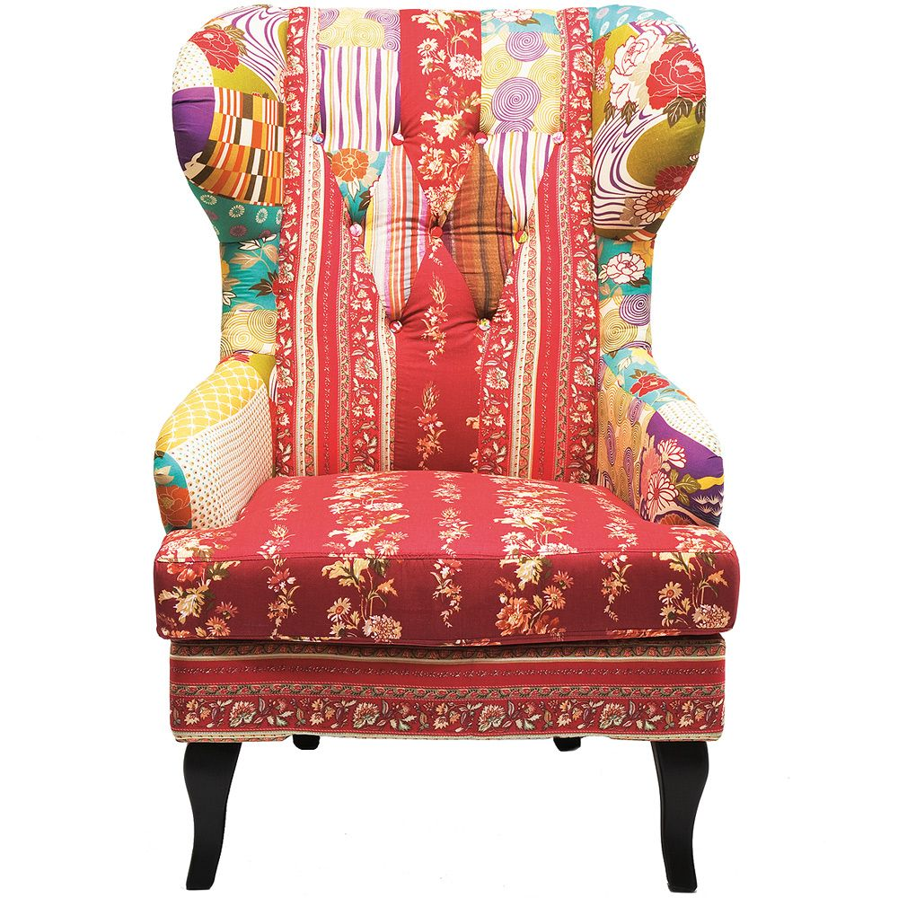 Missoni Home Armchair Virgola Nador: This Glorious Patchwork Wingback Armchair Is The Latest In