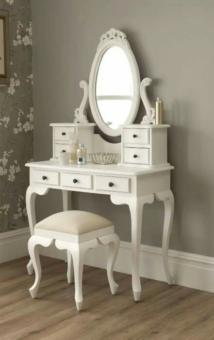 Explore White Vanity Desk, Mirrored Vanity, and more! - Pin By Josée Soucy On Walkin Pinterest