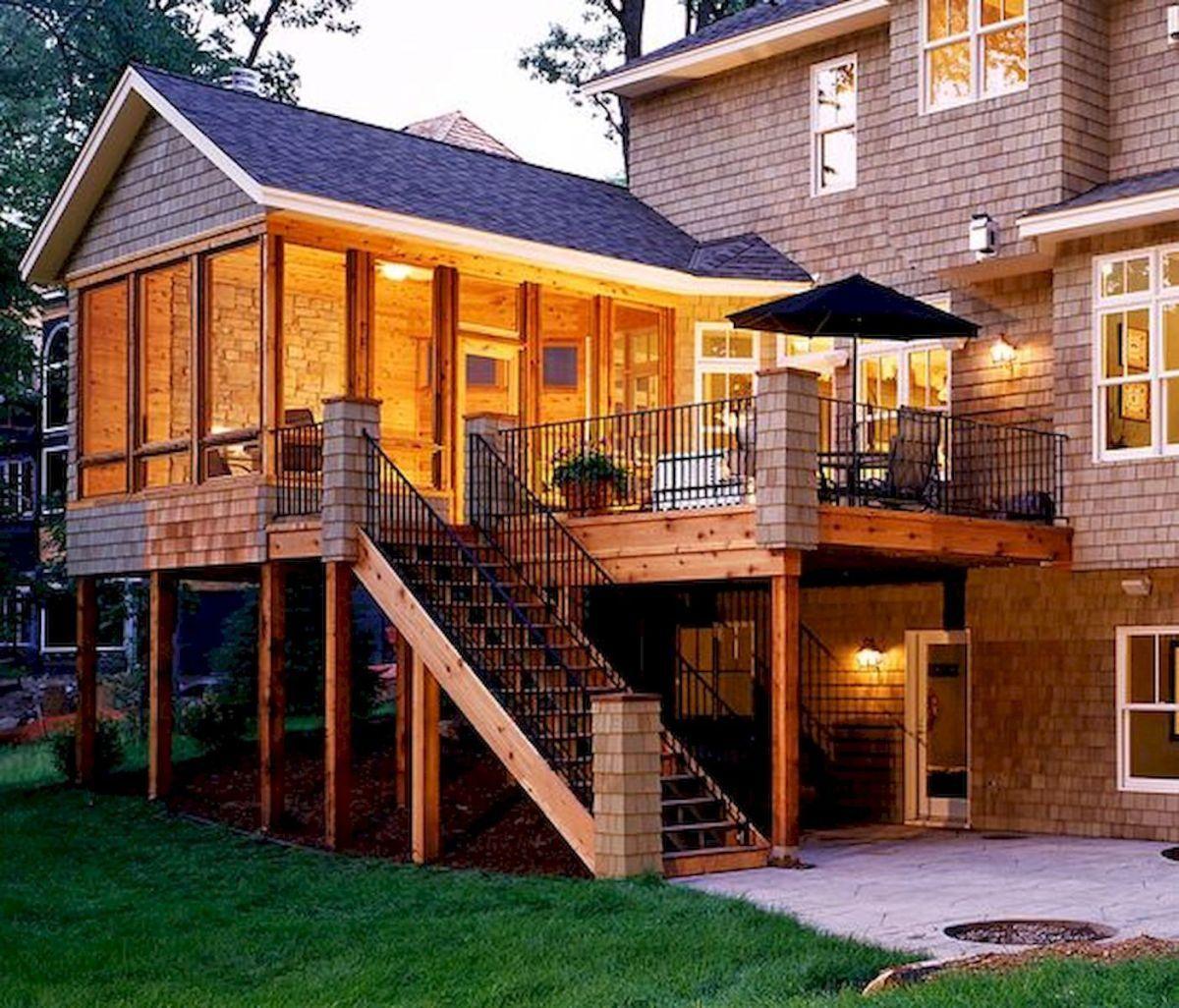 Covered Deck And Pergola Roof Design Ideas (1