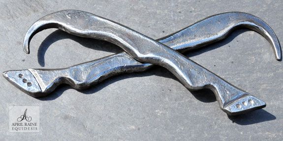 Hand Forged Hoof Pick Made From Horseshoe