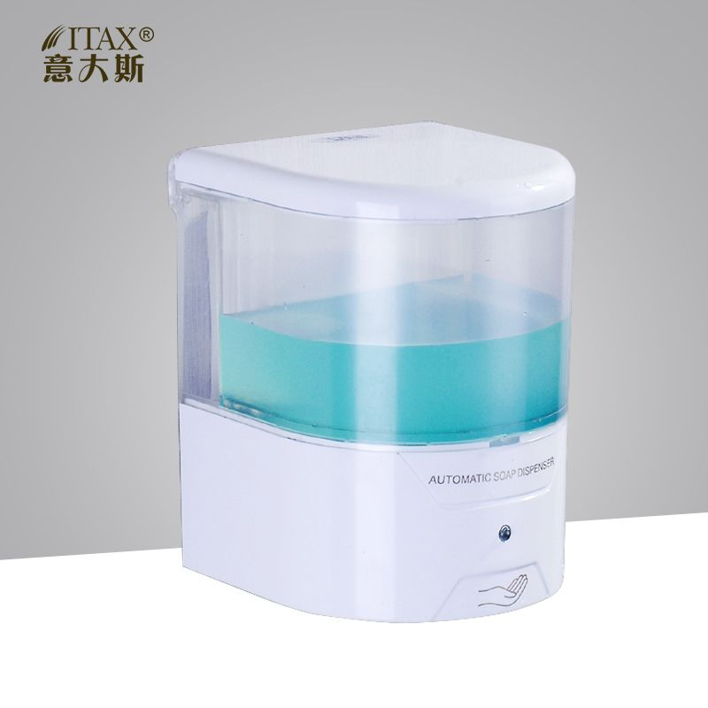Itax Wall Mount Refillable Automatic Hand Sanitizer Liquid Soap