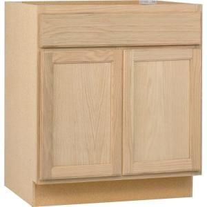 30x34 5x24 In Base Cabinet In Unfinished Oak B30ohd At The Home Depot Kitchen Base Cabinets Base Cabinets Kitchen Cabinet Drawers