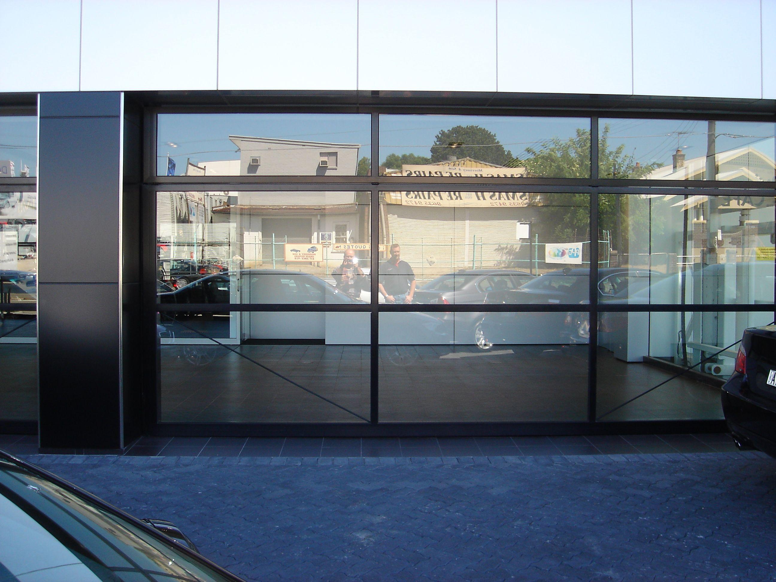 Overhead Folding Doors | TRU Architectural | pool house | Pinterest ...