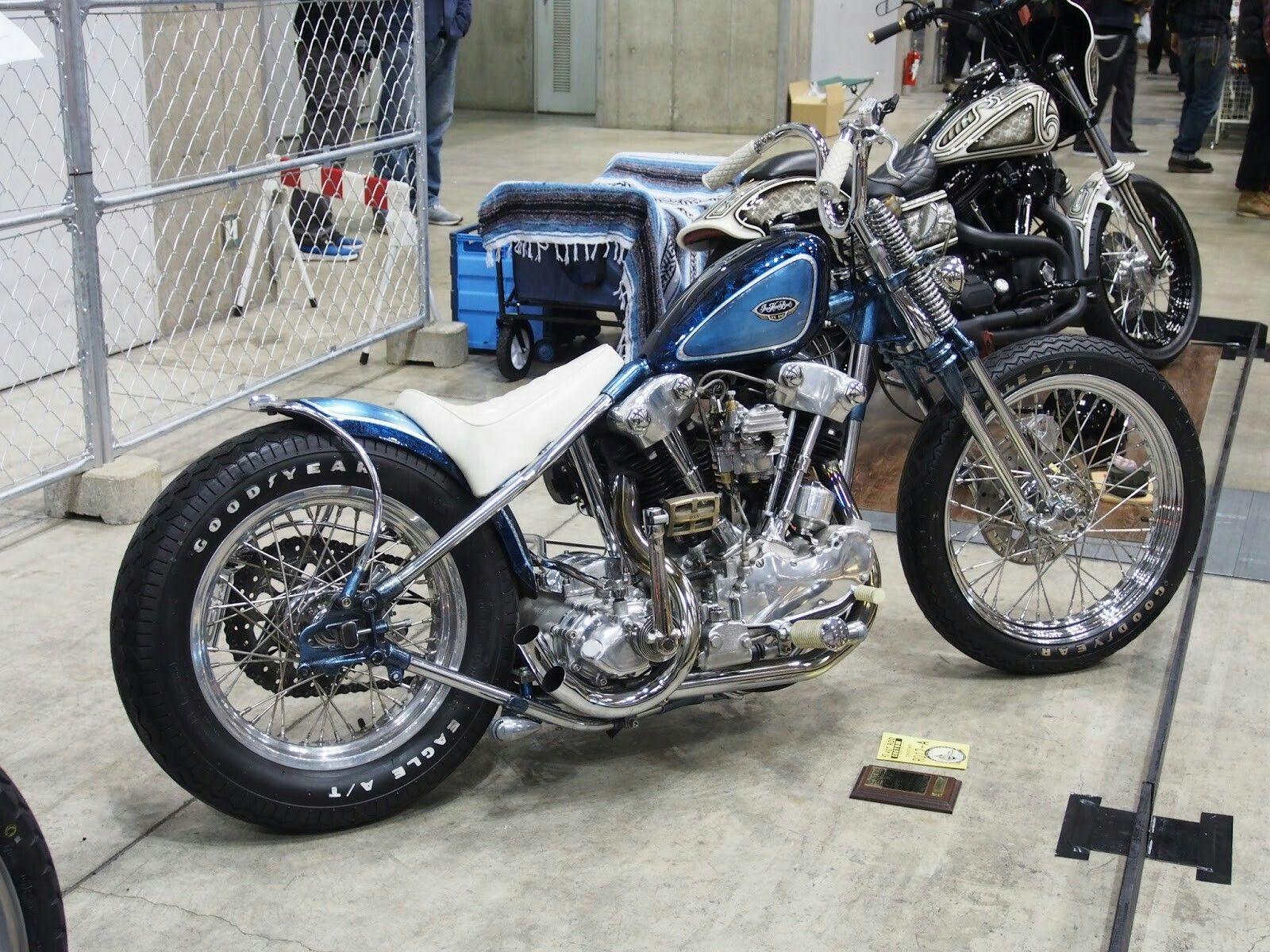 """Custom Harley-Davidson EL/FL """"Knucklehead"""" rigid chopper   One-off ..."""