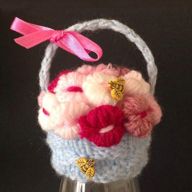 Innocent Smoothies Big Knit Hat Patterns - Flower Basket ...