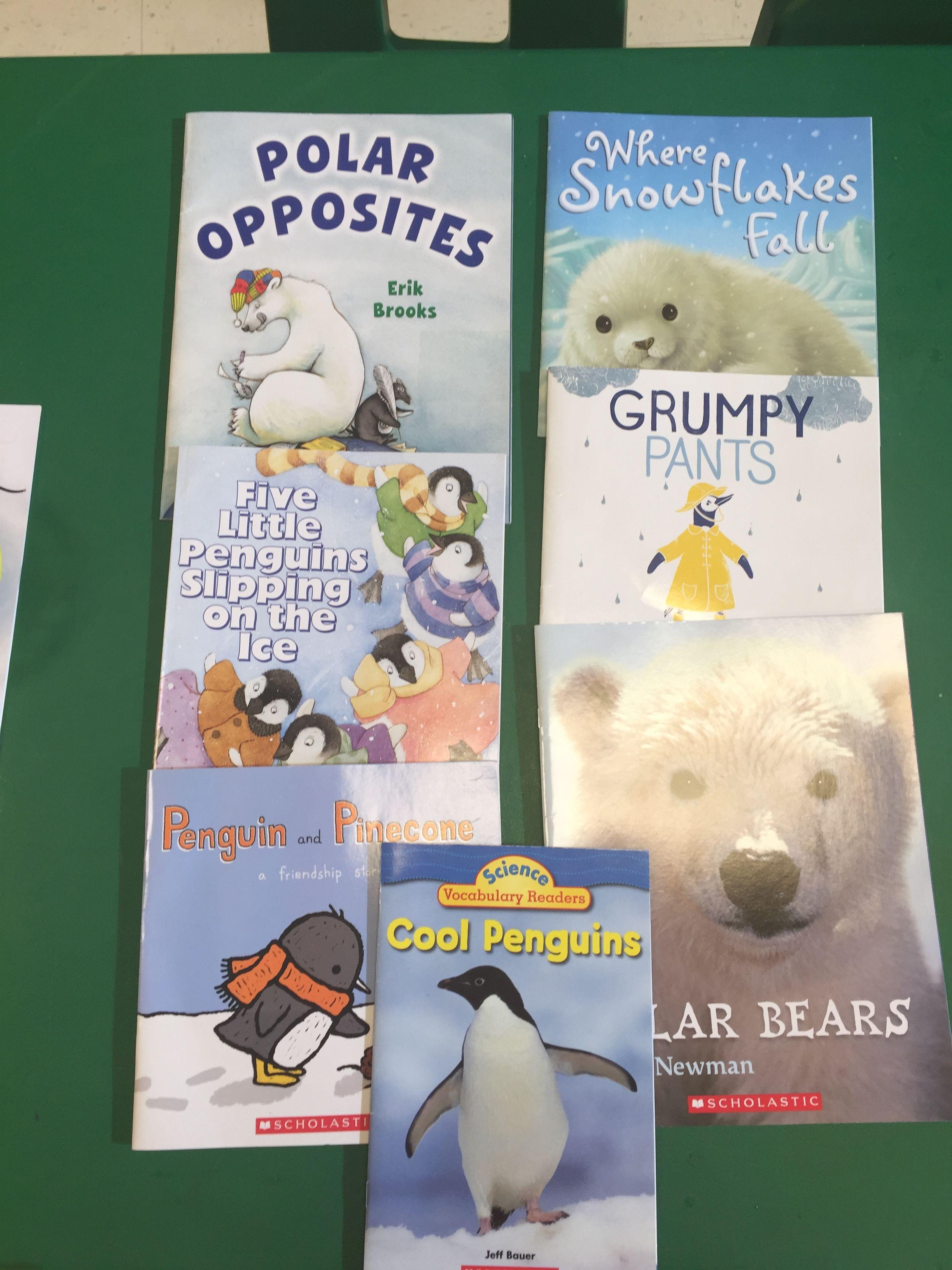 Winter And Polar Arctic Animal Fun Preschool Books For